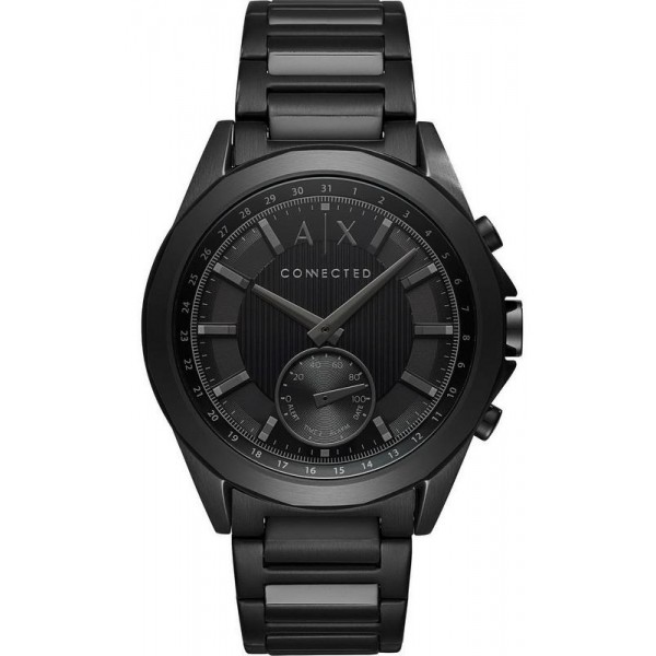 Buy Armani Exchange Connected Men's Watch Drexler Hybrid Smartwatch AXT1007