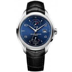 Baume & Mercier Men's Watch Clifton GMT Automatic 10316