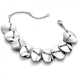 Buy Breil Women's Bracelet Back To Stones TJ1370