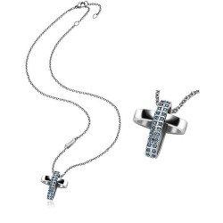 Buy Breil Women's Necklace Charming Cross TJ1462