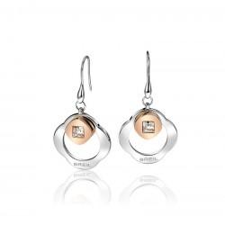 Buy Breil Women's Earrings Crossing Love TJ1580