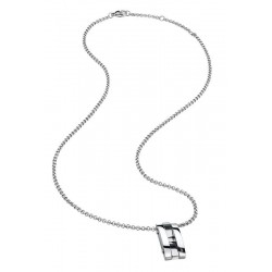 Buy Breil Men's Necklace Be Black TJ1926