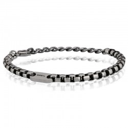 Buy Breil Men's Bracelet Blacken TJ1945