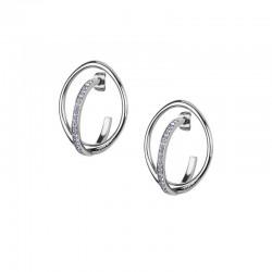 Buy Breil Women's Earrings Mezzanotte TJ2196