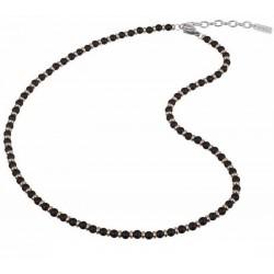 Buy Breil Mens Necklace Black Onyx TJ2410
