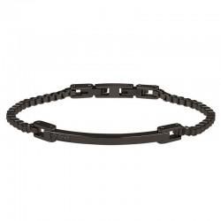 Buy Breil Men's Bracelet Black Diamond TJ2746
