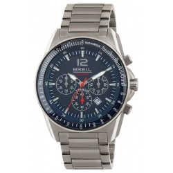 Breil Men's Watch Titanium TW1659 Solar Chronograph