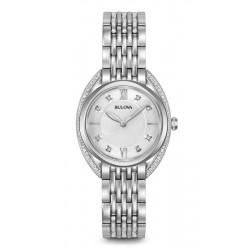 Buy Bulova Women's Watch Curv Diamonds 96R212 Quartz