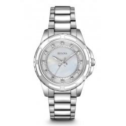 Buy Bulova Women's Watch Diamonds 96S144 Quartz