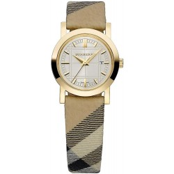 Buy Burberry Women's Watch The City Nova Check BU1399