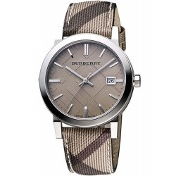 Buy Burberry Women's Watch The City Nova Check BU9118