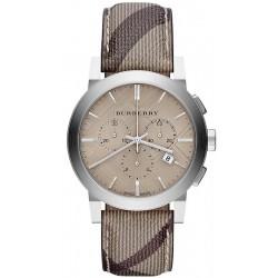 Buy Burberry Men's Watch The City Nova Check BU9361 Chronograph