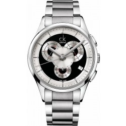 Buy Calvin Klein Men's Watch Basic K2A27104 Chronograph
