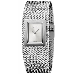 Buy Calvin Klein Women's Watch Mesh K5L13136