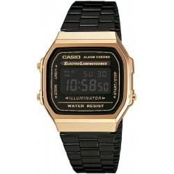Casio Vintage Unisex Watch A168WEGB-1BEF