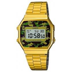 Buy Casio Collection Unisex Watch A168WEGC-3EF