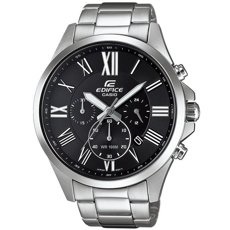 Casio Edifice Men s Watch EFV-500D-1AVUEF Chronograph - New Fashion ... a197c74bc18
