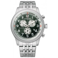 Buy Citizen Mens Watch Aviator Chrono Eco Drive AT2460-89X