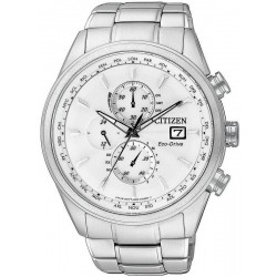 Buy Citizen Men's Watch Chrono Eco-Drive Radio Controlled AT8011-55A