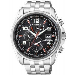 Citizen Men's Watch Radio Controlled Chrono Eco-Drive AT9030-55F