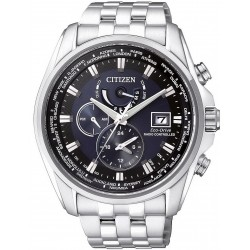 Citizen Men's Watch Radio Controlled Chrono Eco-Drive AT9030-55L