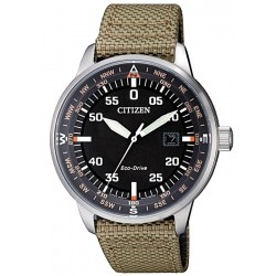 Citizen Men's Watch Aviator Eco-Drive BM7390-14E