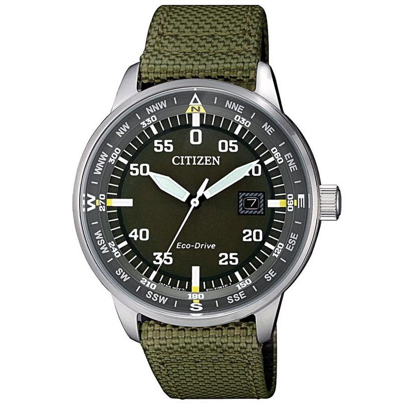 Citizen Men s Watch Aviator Eco-Drive BM7390-22X 7cd77797072d