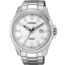 Citizen Men's Watch Super Titanium Eco-Drive BM7470-84A