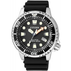 Citizen Men's Watch Promaster Marine Diver's Eco-Drive 200M BN0150-10E