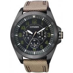Citizen Men's Watch Military Eco-Drive Multifunction BU2035-05E