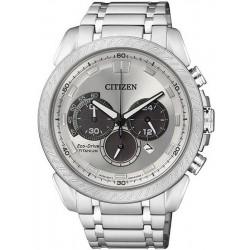 Citizen Men's Watch Super Titanium Chrono Eco-Drive CA4060-50A