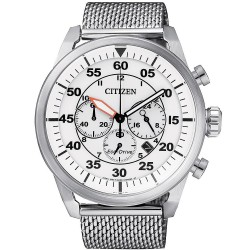 Buy Citizen Men's Watch Aviator Chrono Eco-Drive CA4210-59A