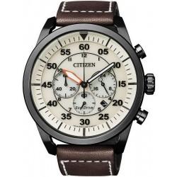 Citizen Men's Watch Aviator Chrono Eco-Drive CA4215-04W