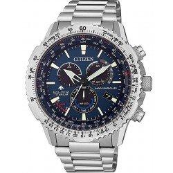 Buy Citizen Men's Watch Radio Controlled Chrono Pilot Super Titanium CB5010-81L