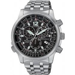 Citizen Men's Watch Radio Controlled Chrono Pilot Super Titanium CB5850-80E