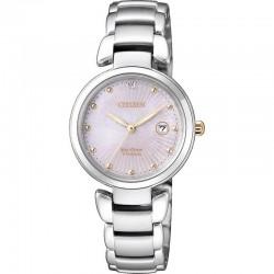 Citizen Women's Watch Super Titanium Eco-Drive EW2506-81Y