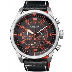 Buy Citizen Men's Watch Aviator Chrono Eco-Drive CA4210-08E