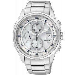 Buy Citizen Men's Watch Chrono Eco-Drive CA0370-54B