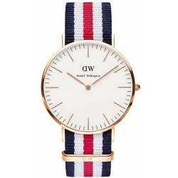 Buy Daniel Wellington Men's Watch Classic Canterbury 40MM DW00100002