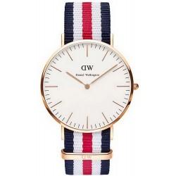 Daniel Wellington Men's Watch Classic Canterbury 40MM DW00100002