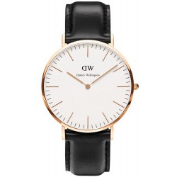 Buy Daniel Wellington Men's Watch Classic Sheffield 40MM DW00100007