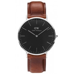 Buy Daniel Wellington Men's Watch Classic Black St Mawes 40MM DW00100130