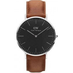 Buy Daniel Wellington Men's Watch Classic Black Durham 40MM DW00100132