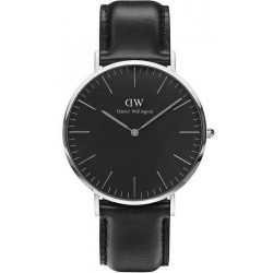 Buy Daniel Wellington Men's Watch Classic Black Sheffield 40MM DW00100133