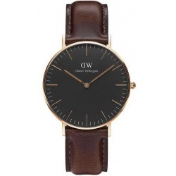 Buy Daniel Wellington Unisex Watch Classic Black Bristol 36MM DW00100137