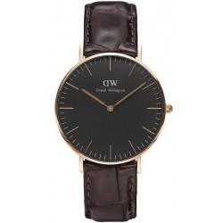 Buy Daniel Wellington Unisex Watch Classic Black York 36MM DW00100140