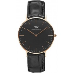 Buy Daniel Wellington Unisex Watch Classic Black Reading 36MM DW00100141