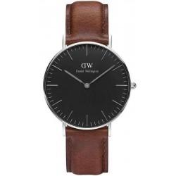 Buy Daniel Wellington Unisex Watch Classic Black St Mawes 36MM DW00100142