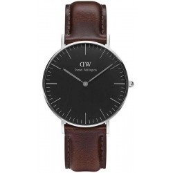Buy Daniel Wellington Unisex Watch Classic Black Bristol 36MM DW00100143