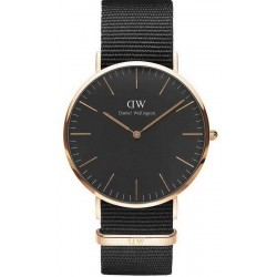 Buy Daniel Wellington Men's Watch Classic Black Cornwall 40MM DW00100148